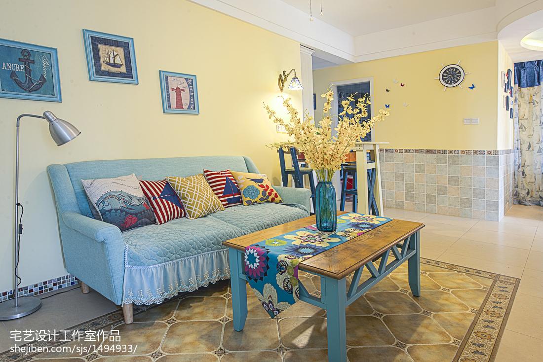 精选二居卧室地中海装修设计效果图片欣赏