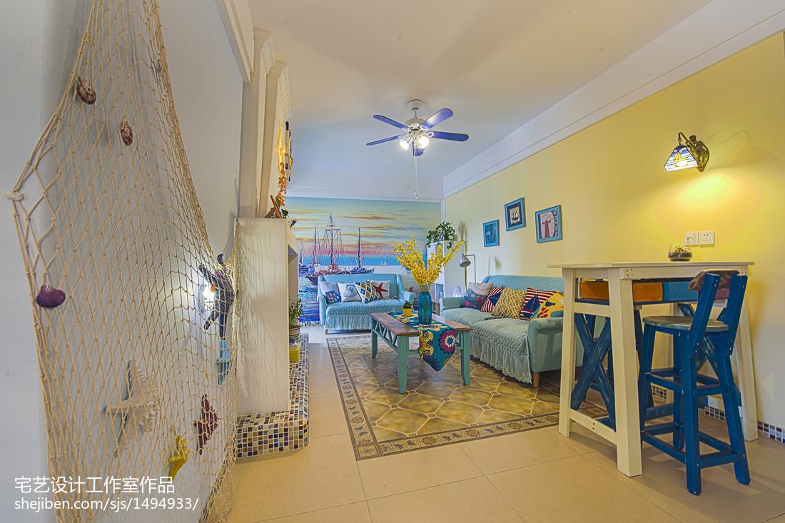 精选地中海二居客厅装饰图片欣赏