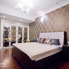 精美99平米三居卧室简欧装修实景图