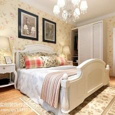 精美田园二居卧室装修效果图片欣赏
