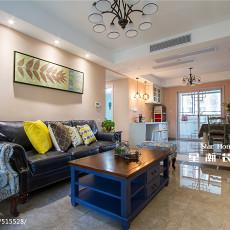 温馨126平美式三居客厅图片大全