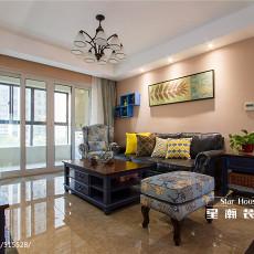 精致101平美式三居客厅装饰美图
