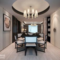 精选面积140平中式四居餐厅效果图片欣赏