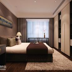 精美面积111平中式四居卧室效果图片欣赏