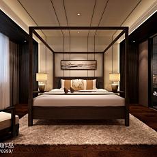 精选115平米四居卧室中式装修效果图