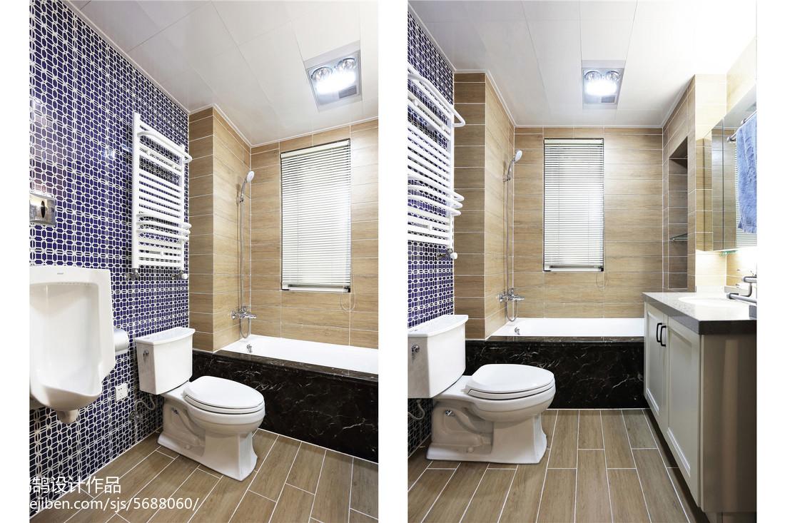 精选中式三居卫生间装修设计效果图片