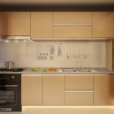 2018精选78平米二居厨房现代装修设计效果图片大全