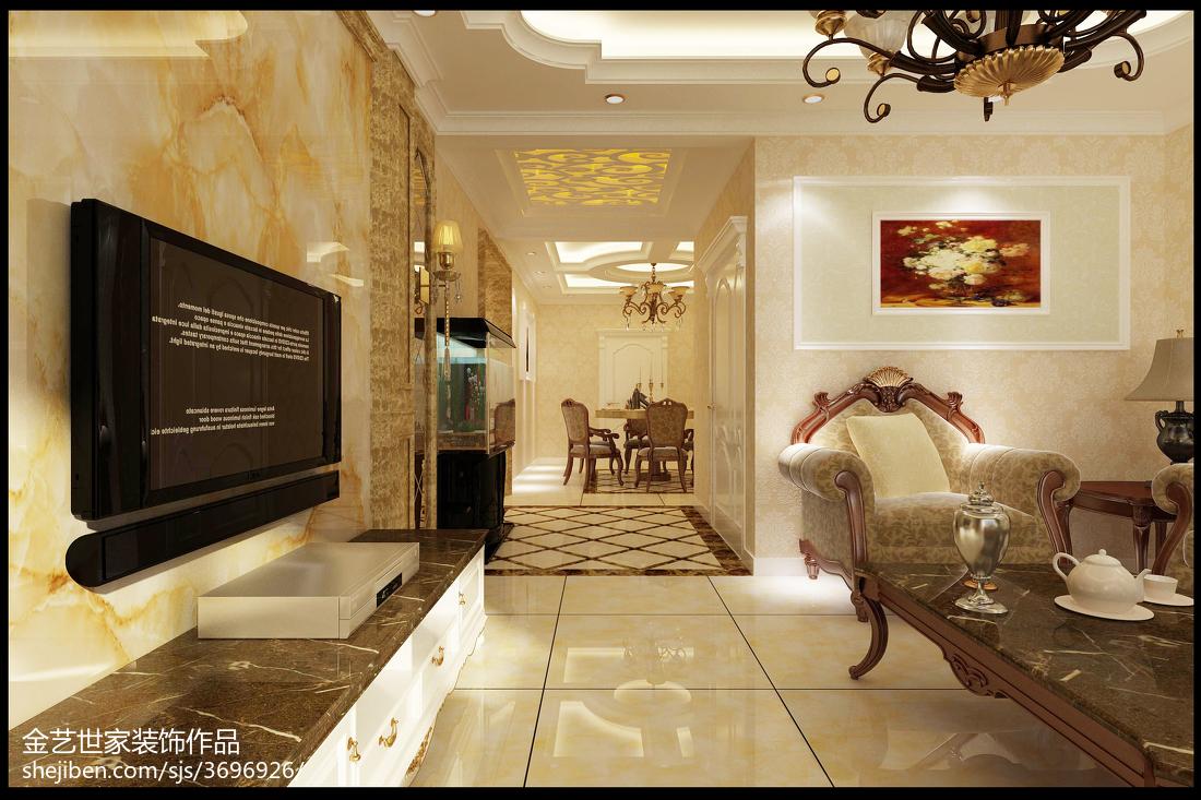 美式复古设计卧室装修图片欣赏