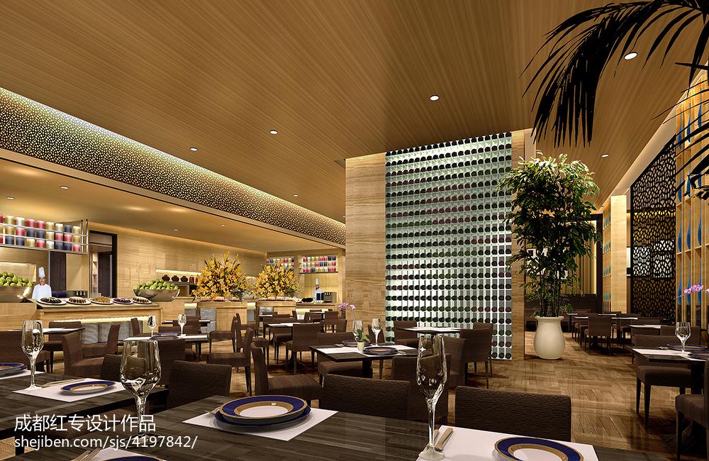 现代中式家居餐厅装修
