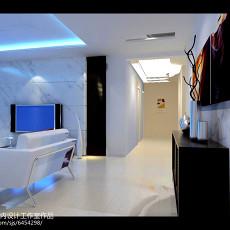 精选76平米现代小户型客厅装修效果图