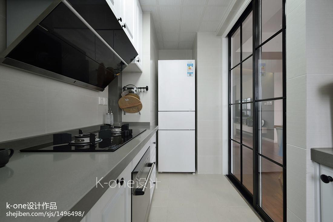 北欧家装厨房效果图装修