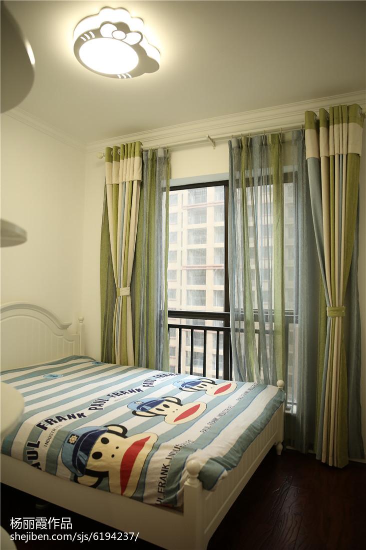 复古简欧设计卧室装修效果图