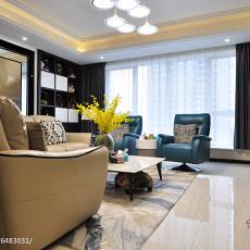143平米四居客厅现代装修图