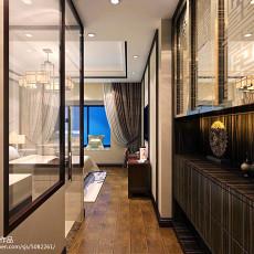 中式卧室图