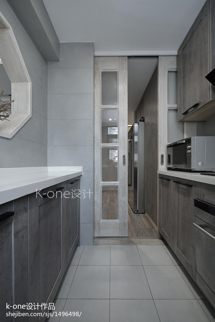 热门四居厨房中式装修欣赏图
