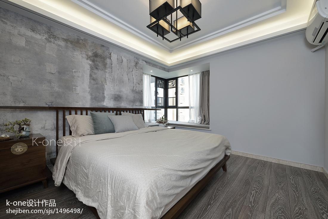 精美中式四居卧室装饰图
