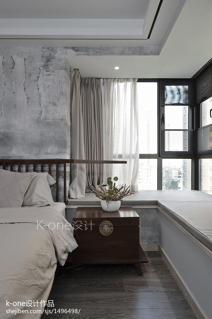 热门四居卧室中式装修图片欣赏