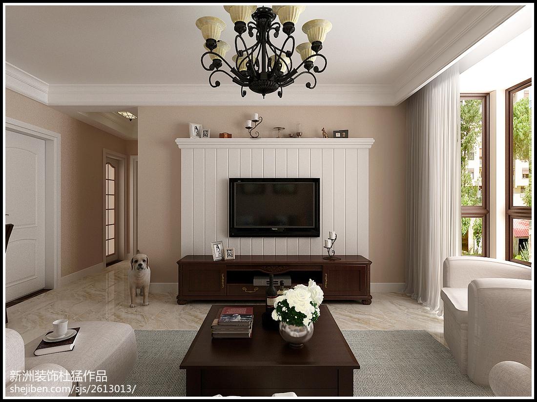 清新欧式宜家风格二居室设计