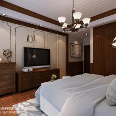 精选面积139平美式四居卧室欣赏图片大全