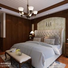 2018精选135平米四居卧室美式装修图片大全