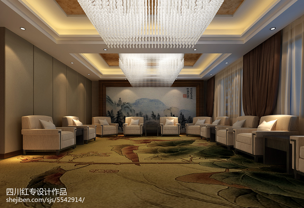 热门103平米三居现代装饰图片大全