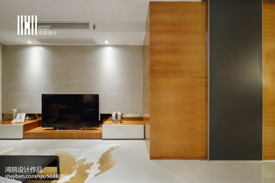 201892平方三居客厅现代装修设计效果图片大全