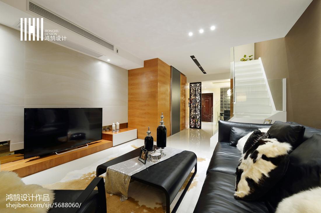 精选99平大小现代三居装修设计效果图片欣赏