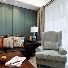 精美大小93平美式三居客厅装修欣赏图