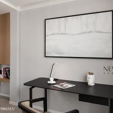 精美104平米三居书房简约装修设计效果图片欣赏