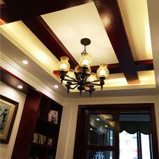 中式风格装修餐厅效果图