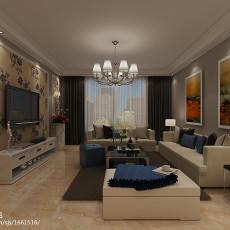 二居客厅简约装修图