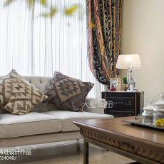 面积133平别墅客厅欧式装修欣赏图片