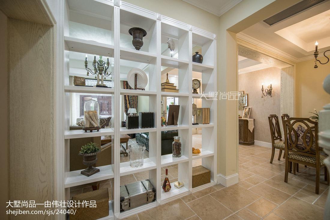 2018精选面积127平别墅客厅欧式装修效果图片欣赏