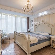2018面积120平别墅卧室欧式装修图片