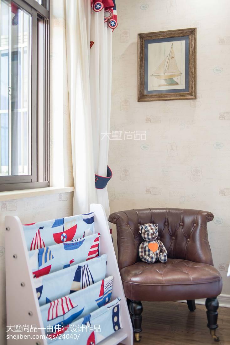 精选125平米欧式别墅儿童房装修图片
