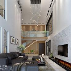 2018精选119平米现代复式客厅装修欣赏图片大全