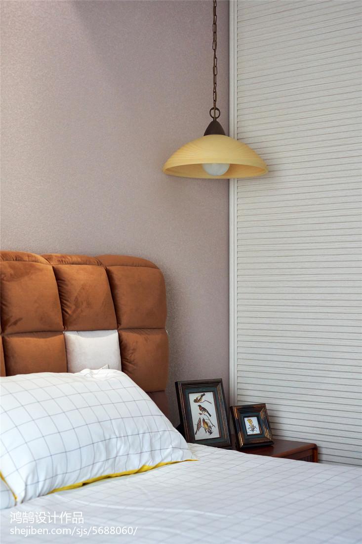 大气115平美式三居卧室设计图