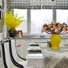 2018精选面积105平欧式三居餐厅装饰图片欣赏