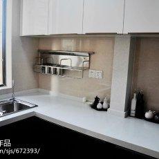 2018面积93平现代三居厨房装修效果图