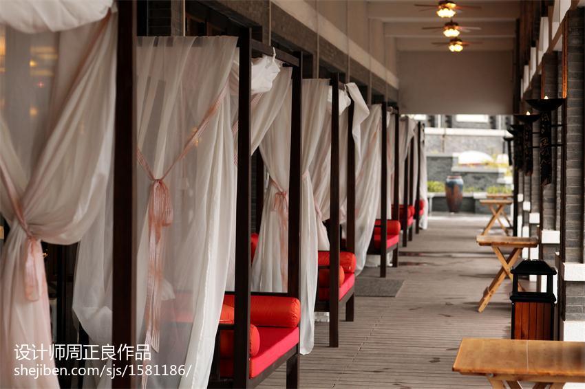 现代中国风餐厅装修设计