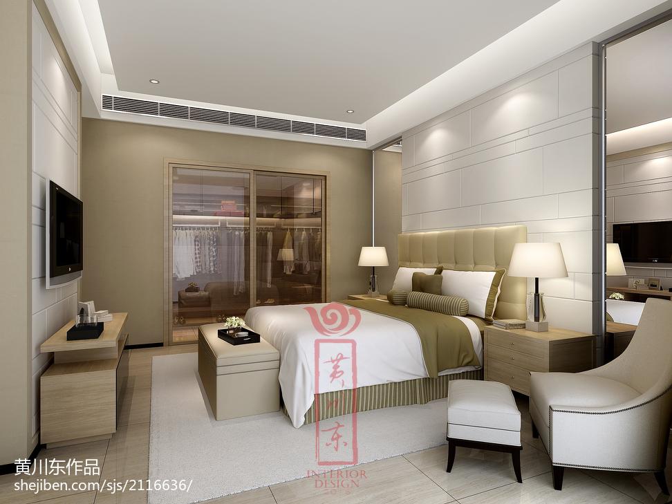 四居室现代风格四室两厅卧室装修效果图