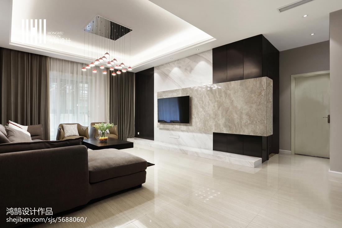 精美72平现代复式客厅图片欣赏