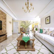 精美大小101平美式三居客厅装修图片