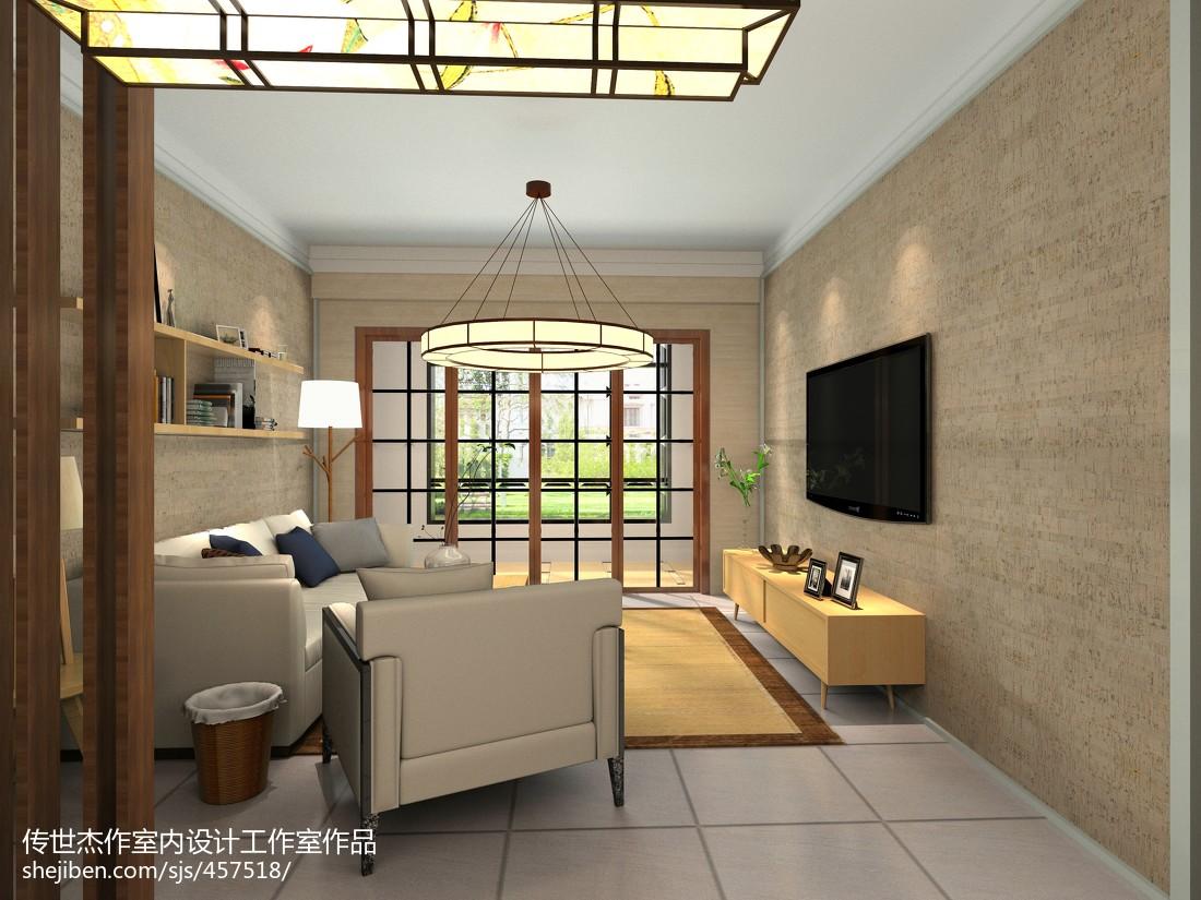 传统日式装修风格三居室设计