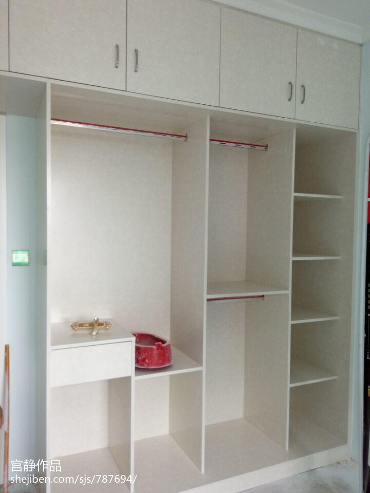75平米二居卧室简约装修设计效果图片欣赏