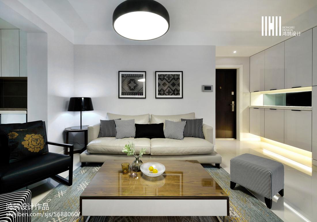 精美现代客厅三居装修图片欣赏