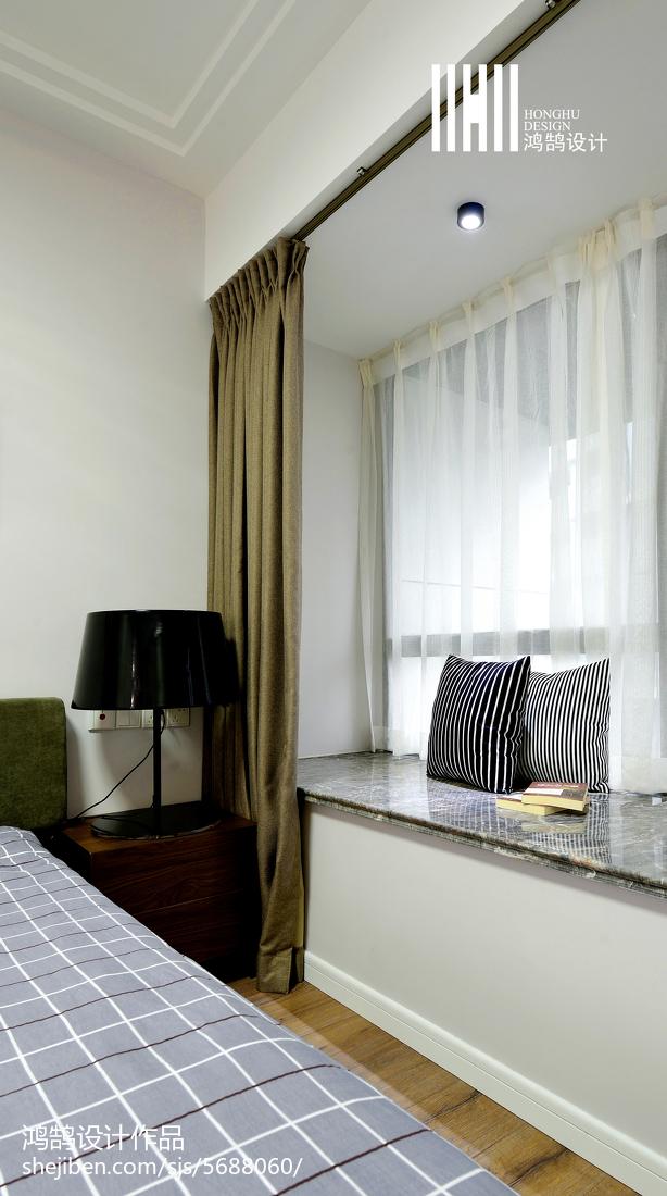 大小96平现代三居卧室实景图片大全