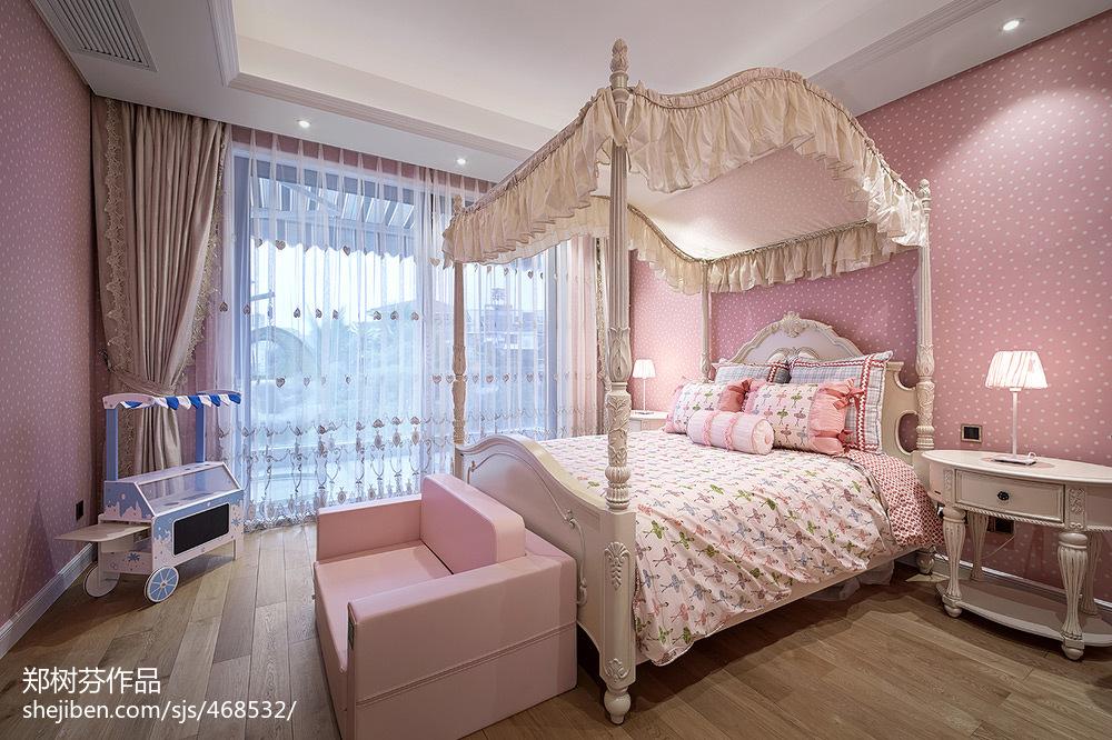 欧式典雅儿童房装修图