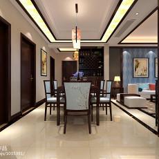精选104平方三居餐厅中式装修图