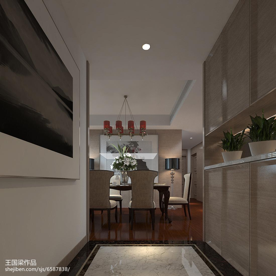 现代风格餐厅效果图设计